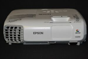 Epson Powerlite 97h 3lcd Portable Projector 2700 2x Hdmi 145 Used Lamp Hours