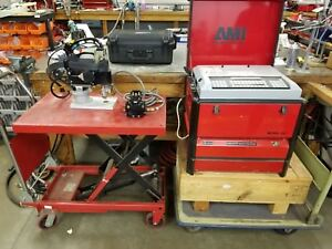 Ami Arc Machines 227 Power Supply And Model 6 Tube To Tube Shee weld System