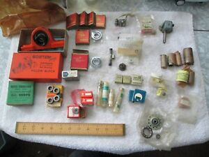 A Large Lot Of Bearings Many Sizes Ob s