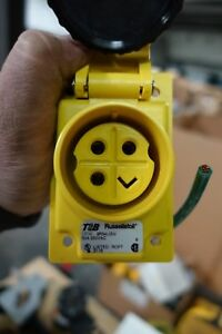 Thomas Betts Receptacle Cat No 9r54u2w 50 Amp Duraguard