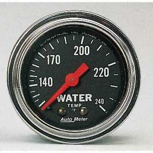 Auto Meter 2432 Gauge 2 Water Temperature Gauge 120 240