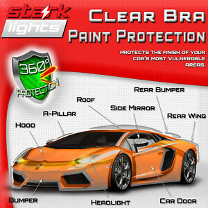 Clear Paint Protection Bra Film Car Auto Vinyl Wrap Scratch Shield Exterior