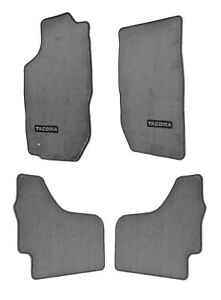 2001 2004 Tacoma Carpet Floor Mats Gray Double Cab Genuine Pt206 35012 11