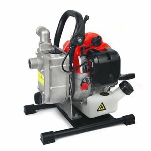 Xtremepowerus 1 33 Cc 2 stroke Gas powered Portable Water Pump