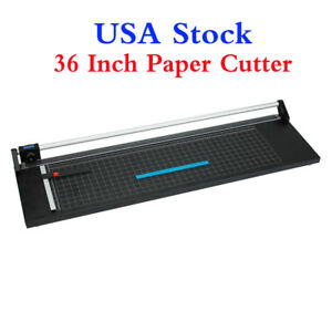 Usa Stock 36 Inch High Precision Rotary Paper Trimmer Sharp Photo Paper Cutter