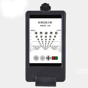 Glf Double side Led Optical Visual Chart Lamphouse Optometry Tester Vision Chart