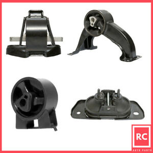 Motor trans Mount Set 4pcs For 07 13 Chrysler Sebring Dodge Avenger 2 4 2 7 3 5l