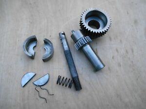 South Bend Lathe 9 10k Apron Worm Gear And Clutch Assembly Parts