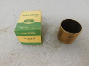 John Deere Unstyled B Tractor Nos Belt Pulley Bushing B412r 11536