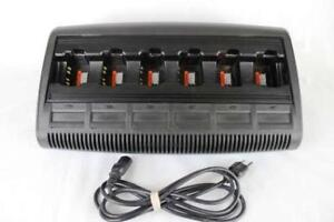 Motorola Wpln4197a Impres Multi unit Charger For Ht750 1250 1550 Ex500 560 600