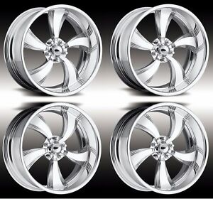 17 Inch Pro Wheels Rims Twisted Killer Intro Foose Mags Billet Us Forged Line