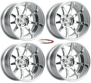 18 Sport Pro Wheels Boost Forged Staggered 2 Piece Billet Alloy Rims Intro Foose