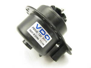 Vdo Pm540 Engine Cooling Fan Motor Right