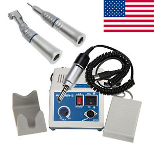 Dental Lab Marathon Micro Motor 35k Rpm Straight Handpiece Contra Angle Kit
