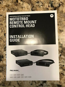 Motorola Mototrbo Remote Mount Adapter Kit Pmln6404a 3m Remote Cable Pmkn414
