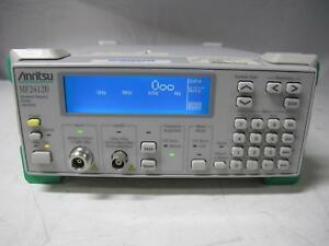 Anritsu Mf2412b Microwave Frequency Counter 10 Hz To 20 Ghz Opt 01