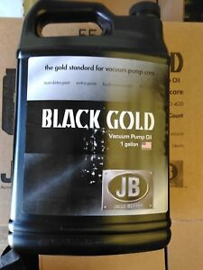 Jb Industries Dvo24 Bottle Of Black Gold Vacuum Pump Oil 1 Gallon