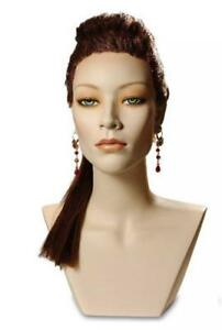 Asian Mannequin Head Female Wig Display Heads From Vaudevillemannequins com