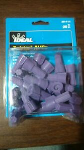 Ideal 30 165 25 Pack Twist On Wire Connector Screw Nuts Caps 12 10 Awg