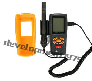 Digital Humidity Temperature Meter 10 To 50 1 20 To 1000 2 Gm1361