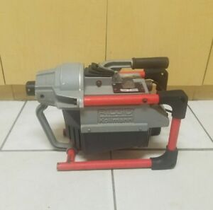 Ridgid K 60sp Sectional Machine Drain Cleaning Sewer