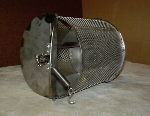 New 2 Lb Capacity Coffee Roaster Drum For Bbq Grill Chile Peanut Cacao
