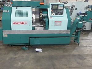 95 Methods Nakamura Slant 50 Cnc Lathe Turning Center Haas Video Mori Seiki