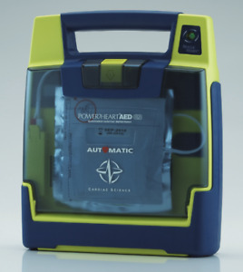 Cardiac Science Powerheart G3 Automatic Aed W New Pads Battery