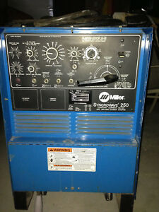Miller Syncrowave 250 Tig Welding Machine