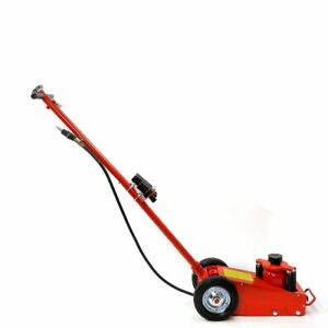 22 Ton Floor Jack Hydraulic Air Axle Bottle Jack With Wheels