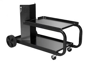 Mig Welding Cart Cylinder Rack Welder Storage Tank Table Heavy Duty Small Black