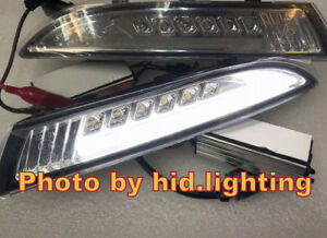 Us Volkswagen Scirocco Drl Led White Side Marker Turn Signal Parking Light Clear