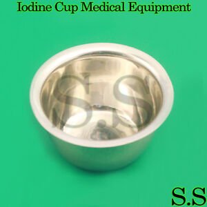2 Iodine Cup 6oz Surgical Medical Equipment Ent Instruments