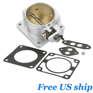 Performance Billet 75mm Throttle Body For 86 93 Ford Mustang Gt Cobra Lx 5 0 New