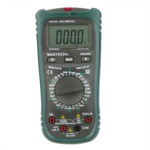 Original Mastech Ms8260d Digital Multimeter 4 1 2 Non contact Current Frequency