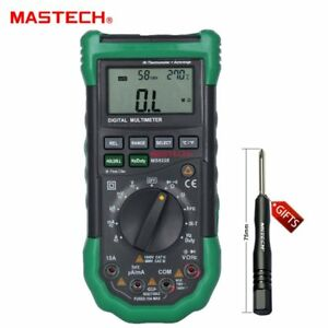 Original Mastech Ms8228 Multimeter Ir Thermometer Relative Humidity Tester