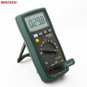 Original Mastech Ms8217 Multimeter Auto Ranging Frequency Temperature Meter
