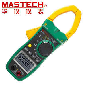 Original Mastech Ms2138 Ac dc Voltage Current Clamp Meter Cycle cap Tester