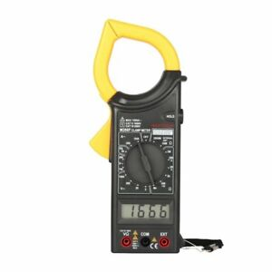 Original Mastech M266f Ac Current Digital Clamp Meter Resistance Tester Detector