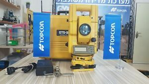 Topcon Gts 300 Total Station Used