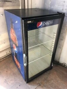 Qbd Pepsi Single Door Refrigerator Commercial Drink Food Cooler Non cooling