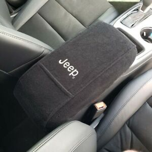 Fits Jeep Grand Cherokee 2010 2014 Embroidered Center Console Lid Cover J1emb