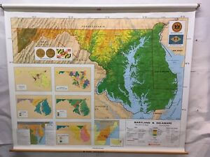 Nystrom School Map 1ps19 Maryland Delaware Sm 02