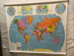 Nystrom School Map 1ns981 World United States Sm 04