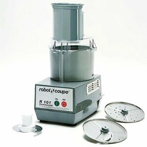 Robot Coupe R101p Vegetable Slicer Cutter Food Processor 2 5qt Bowl 2 Disc
