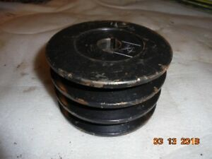 Economy Power King Mower Deck Pulley 3 Groove