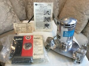 Vintage NOS Rockwell 4770 Disc Sander W Paint Remover Attachment NEVER USED!