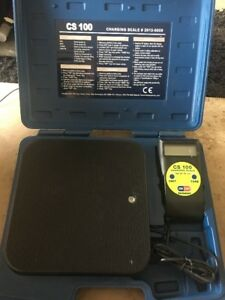 Bacharach Cs100 Cs 100 Refrigerant Charging Scale