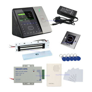 Zk Iface701 Face rfid pin Multi biometric Access Control Systems Magnetic Lock
