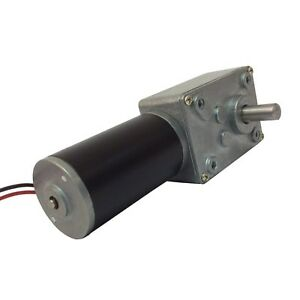 Bemonoc Small Dc Motor High Torque 12v 35 Rpm Worm Geared Motor For Bbq D New